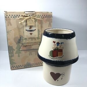 Crazy Mountain Jar Candle Lamp Helena Cook Heartstring Collection Stockings
