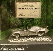 Vintage Johnny Lightning Jungle Jim Funny Car 6.0 Oz Pewter Adult Collectible