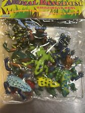 12 Plastic Two Inch Frogs Figure Model Educational Animal Toys