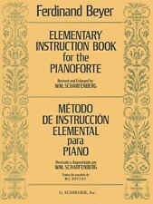 Elementary Instruction Book for the Pianoforte : Metodo de Instruccion...