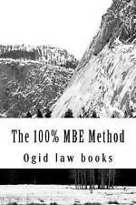 NEW The 100% MBE Method: A, B,C,or D - which option is best? Look Inside!