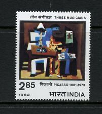N772   India  1982   art paintings Picasso   1v.  MNH