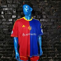 Basel 1893 Jersey Home shirt 2012 - 2013 Multicolor Adidas Z11281 Mens Size XXL