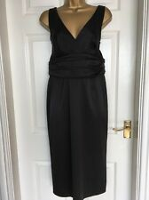 Wallis Black Cocktail Dress Size 14 BNWOT