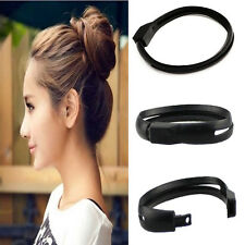 French Women DIY Styling Hair Tool Donut Bun Clip Twist Maker Hair Sticks Holder