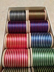 Vintage Gudebrod Size E Space Dyed Nylon Rod Winding Thread 400 Yds 1 Oz Choose