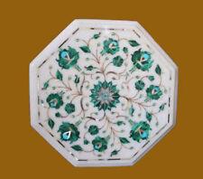 "15"" Marble Coffee Table Inlay Work Handmade Craft Home Decor Home Furniture"