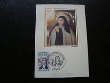 FRANCE - carte 1er jour 20/11/1982 (sainte therese d avila) (cy71) french