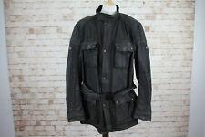 BELSTAFF By Driza-Bone Professional Trialmaster Lined Wax Motorbike Jacket size