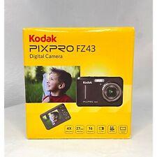 New Kodak PIXPRO FZ53 FZ53-BL Compact Camera 16mp 5X Optical Zoom HD 720p Blue