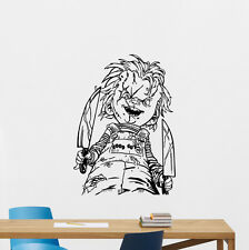 Child's Play Chucky Wall Decal Good Guy Vinyl Sticker Horror Decor Art 121aaa