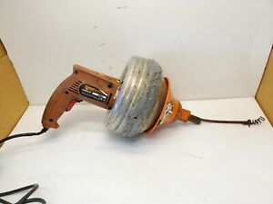 """General Pipe Cleaners Handylectric Motorized Drain Cleaner 25"""" x 1/4"""" Snake"""