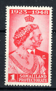 SOMALILAND PROTECTORATE 1949 SG119 KGVI 1a. ROYAL SILVER WEDDING -  MNH