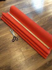 Deluxe Orange Hessian Fabric Fine Weave Quality Jute Burlap Craft Upholstery