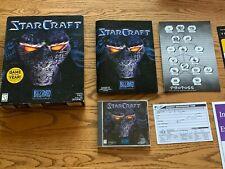 StarCraft - 1997 Classic RTS PC Video Game PC Big Box CD-ROM 95/98/NT Complete