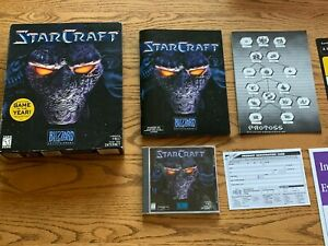 StarCraft - 1997 Classic RTS PC Video Game PC Big Box CD-ROM 95/98/NT Complete