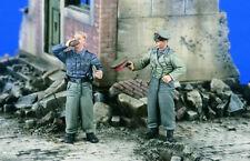 1/35 Resin Figure Model Kit German Soldiers Infantry WWII Unpainted Unassambled
