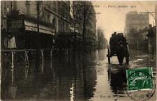 CPA PARIS Rue de la Convention INONDATIONS 1910 (605314)