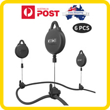 Pro Version Kiwi Design VR Cable Management 6 Packs Retractable Ceiling Pulle
