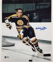WILLIE O'REE Autograph BOSTON BRUINS Signed 8x10 Photo #3 w/ Beckett BAS COA