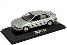 1:43 Volvo S80 Typ TS silber-grau silver grey - Dealer-Edition OEM - Minichamps
