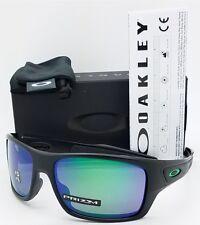 NEW Oakley Turbine sunglasses Matte Black Prizm Jade Polarized 9263-45 AUTHENTIC