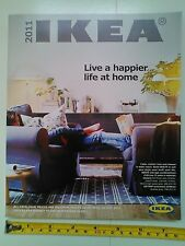 IKEA 2011 CATALOGUE Swedish Furniture Design Living Life UK Book NEW Condition