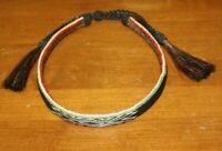 MONTANA STATE PRISON HORSE HAIR COWBOY HAT BAND FREE SHIPPING