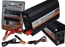 INVERSOR DE CORRIENTE COCHE 12V DC 220V AC 800W USB CONVERTIDOR CONVERSOR