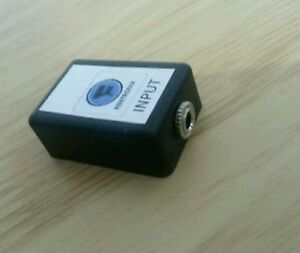 Camera Safety Track Attenuator VCA25 Video MIC In To 1CH Through 1CH -18dB