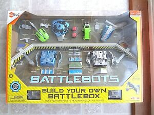 Hexbug Build Your Own Battlebox Remote Control Robots (NEW) Free Shipping