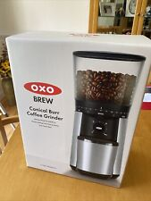 OXO Conical Burr Coffee Grinder 16oz - Stainless Steel One-Touch Start