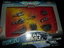 1995 Galoob Star Wars Micro Machines Collectors Edition A NEW HOPE Set NIB