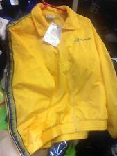 SERGIO TACCHINI jackets polyester jackets vintage iin SMALL M X/large yellow£25