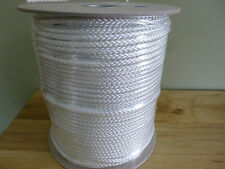 #9 diamond braid polyester rope 530 ft. spool.High Quality. White.