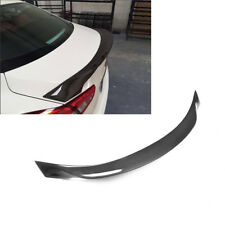 For Maserati Ghibli 14-16 Rear Trunk Boot Spoiler Wing Carbon Fiber A Style