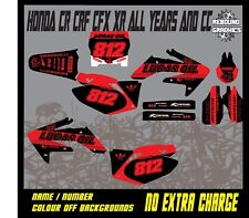 Rebound Graphics To Fit HONDA CR CRF 85 150 125 250 450 All Years and Models