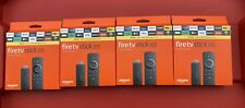 Lot of 4 Amazon Fire TV Stick Lite with Alexa voice and remote control