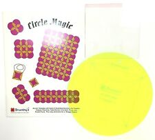Brandy's Circle Magic #673 Acrylic Square Quilting Sewing Quilt Templates & Book