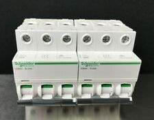 2 Schneider Electric Acti9 Ic60h 25a 3p 440vac Thermal Magnetic Circuit Breakers