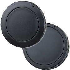 Gehäusedeckel und Objektiv Rückdeckel passend für Canon EOS M