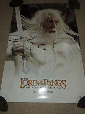 5 LORD OF THE RINGS Return of the King 2 Sided Movie Posters Frodo Gollum Arwen