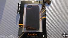 Coque rigide imitation Cuir doux Marron TUCANO  iPhone 4/4S