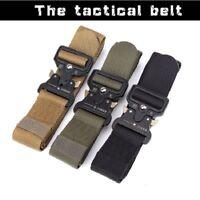 125CM Cobra Deduction Tactical Military Outside Nylon Belt Outdoor Training Belt