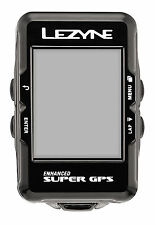 LEZYNE Radcomputer Super GPS - Bluetooth und ANT+ / Navigation + Brustgurt /2017