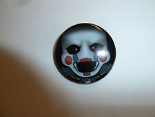 Five Nights At Freddy's Marionette pin badge button video game character FNAF
