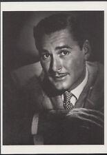 Film Stars Postcard - Actor Errol Flynn, Photo By George Hurrell   RR2395