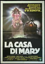 SUPERSTITION 1982 Original Movie Poster 39x55 2Sh Italian ROBERSON HORROR