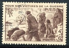 TIMBRE FRANCE OBLITERE N° 737  VICTIMES DE GUERRE Photo non contractuelle