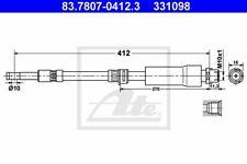 Pour SAAB 900 9-3 Vauxhall Astra Cavalier Avant gauche ou droit Flexi Flexible de freins